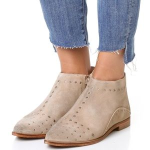 New Free People Studded Pumps Suede Ankle Boots